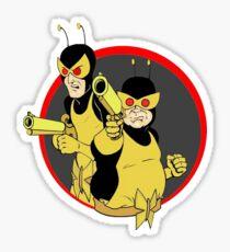 Hench Men! Sticker