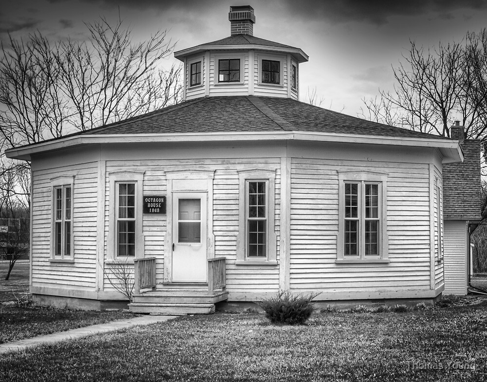 OCTAGON HOUSE 1868 by Thomas Young