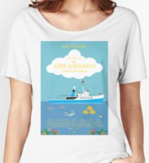 The Life Aquatic with Steve Zissou Poster Women's Relaxed Fit T-Shirt