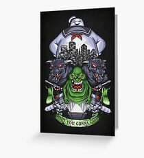 Who You Gonna Call? - Print Greeting Card