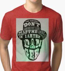 Breaking Bad- I Am The Danger Tri-blend T-Shirt