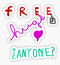 Free Hugs? Sticker