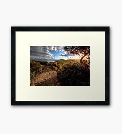 www.LyndenSmith.com - Point Addis Framed Print