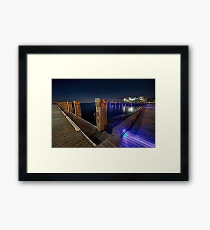 www.LyndenSmith.com - Geelong Waterfront Framed Print