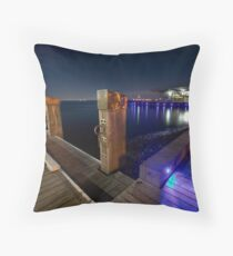 www.LyndenSmith.com - Geelong Waterfront Throw Pillow