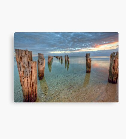 www.LyndenSmith.com.au - Clifton Springs Canvas Print