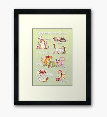 A Cat's Guide to Christmas Presents Framed Print