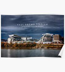 Paul Brown Stadium Poster