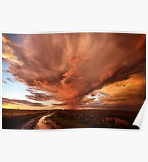 Armageddon Sunset Poster