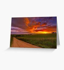 """""""Barrabool Sundown"""" Greeting Card"""