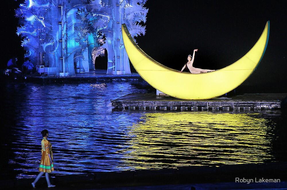 Impression Sanjie Liu show  by Robyn Lakeman