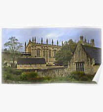 Oxford, England, Christ Church Poster