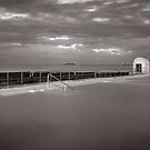 Merewether Baths - B&W by 4thdayimages