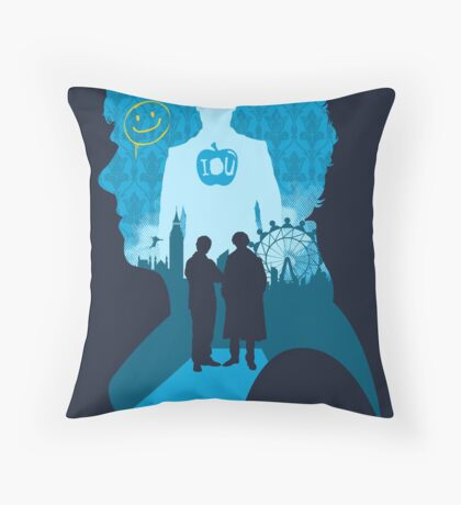 The Game is On Throw Pillow
