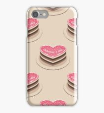 seamless pattern with many cake iPhone Case/Skin