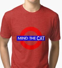 Mind the Cat Tri-blend T-Shirt