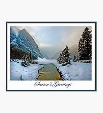 Season's Greeting Card Photographic Print