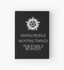 Supernatural motto Hardcover Journal
