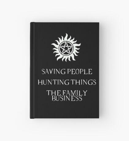 Supernatural motto Hardcover Journal
