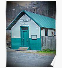 Elkhorn Postal Poster