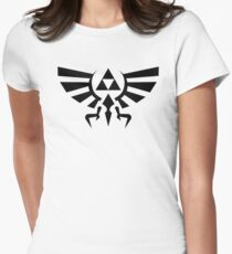 Zelda Triforce Womens Fitted T-Shirt