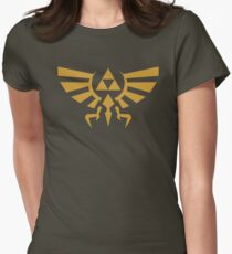 Zelda Triforce Women's Fitted T-Shirt