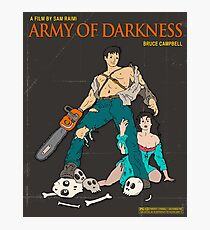 Army Of Darkness Brown Photographic Print
