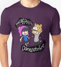 AmazingPhil and Danisnotonfire Unisex T-Shirt