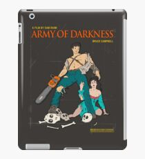 Army Of Darkness Brown iPad Case/Skin