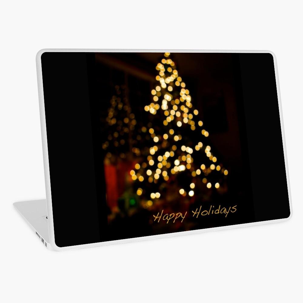 Happy Holidays (Card) Laptop Folie