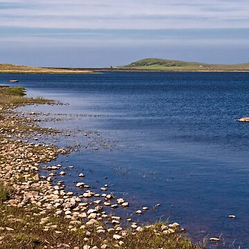 Islay: Blue Waters of Loch Gorm by Kasia-D