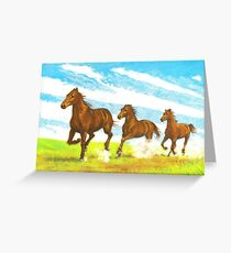 The Gallop Greeting Card