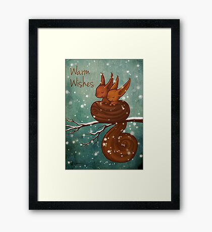 Warm Wishes Framed Print