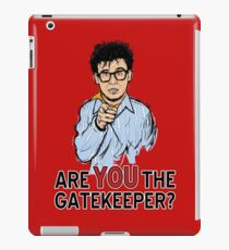 Are You the Gatekeeper? iPad Case/Skin