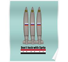 Don't Fuck With Syria  Poster