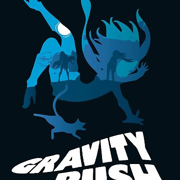 Gravity Rush by AlundrART
