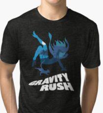 Gravity Rush Tri-blend T-Shirt