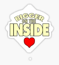 WHO has the Bigger Heart? Sticker