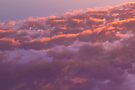 Colorful sky in the evening (orange, pink and purple clouds at sunset) by OlivierImages