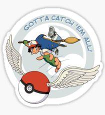Gotta Catch 'Em All Sticker
