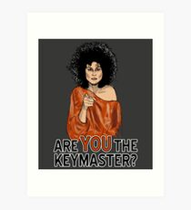 Are You the Keymaster? Art Print