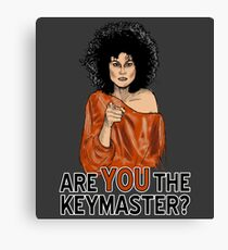 Are You the Keymaster? Canvas Print