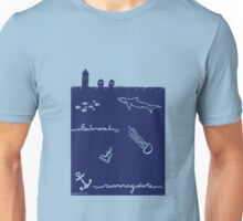 swimming idiots Unisex T-Shirt