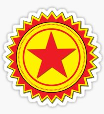 Red Star Sticker