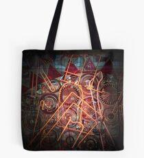 Neon & Metal Tote Bag