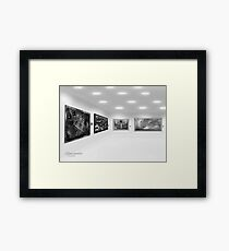 ©DA Walls Expo IA Monochromatic Framed Print