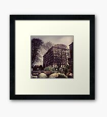 The Sylvia Hotel Framed Print