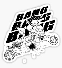 BIGBANG BANG BANG BANG (Black) Sticker
