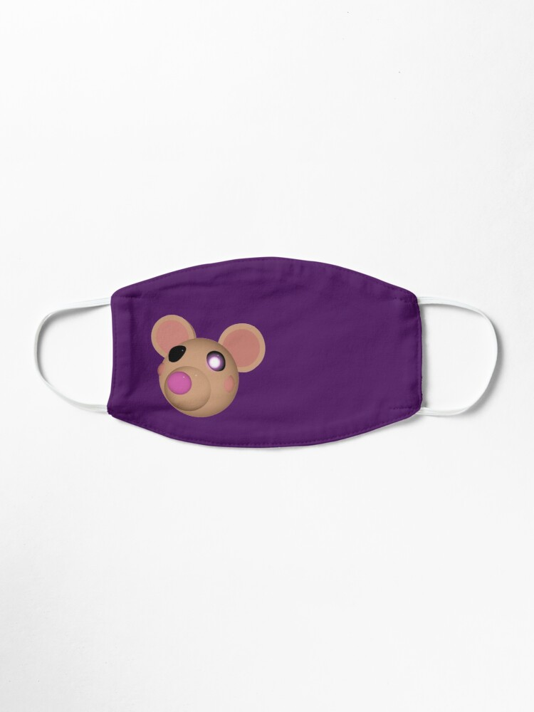 Piggy Mousy Roblox Road Blocks Mask By Fatijld123 Redbubble