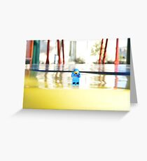Spaceman Benny Photograph Greeting Card
